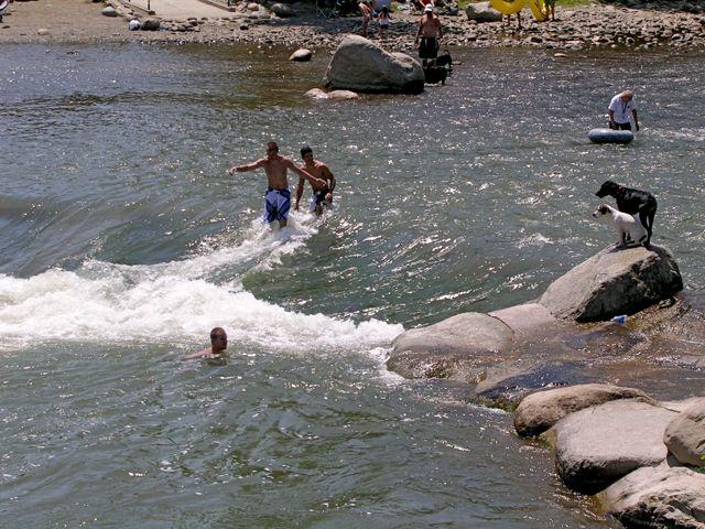 Summer fun Truckee River at Wingfield Park