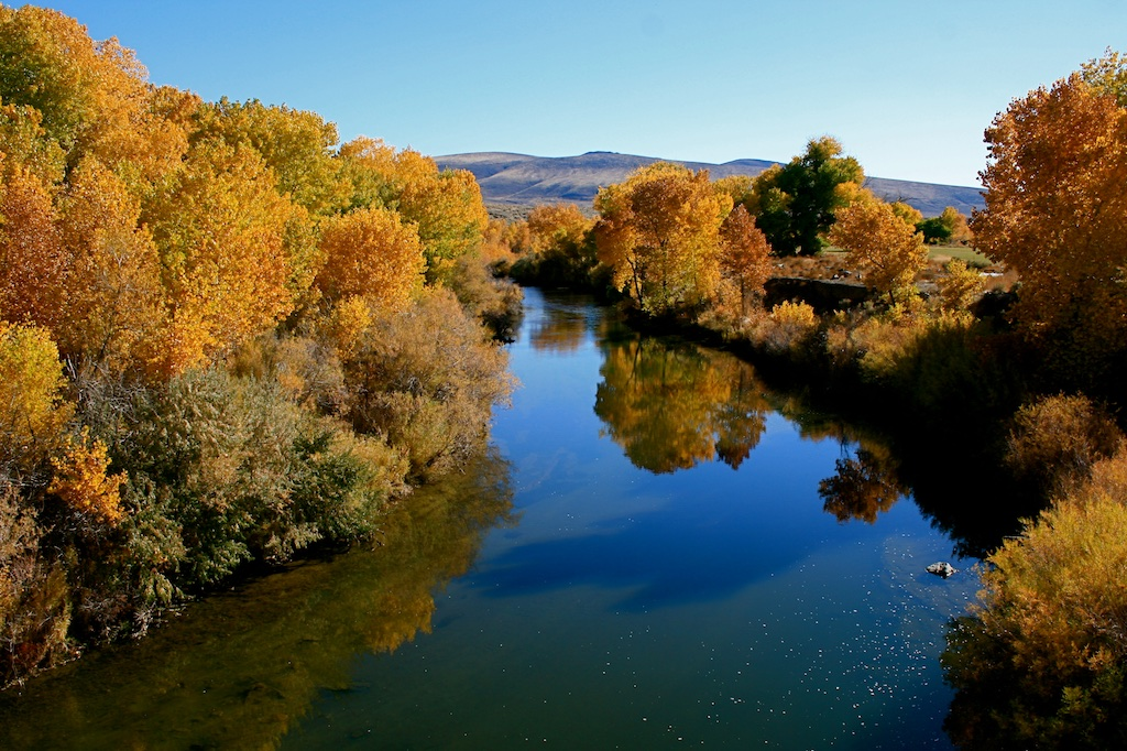 Lower Truckee River at Nixon, Pyramid Lake Paiute Reservation